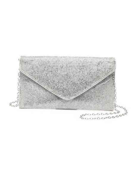 Fashion Lab - Envelope bling clutch