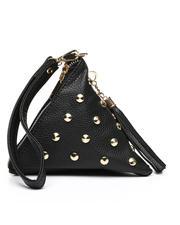 Fashion Lab - Triangle Embellishment Clutch-2472787