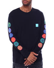 HUF - SEWER L/S POCKET TEE-2472757