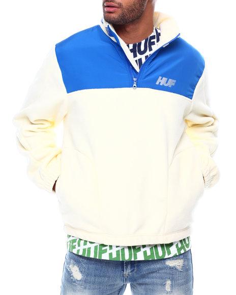 HUF - MOUNTAIN10K QUARTER ZIP Fleece Jacket