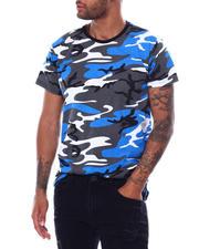 Shirts - S/S Mens Hi/Low Camo T-shirt-2473172