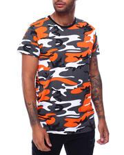 Shirts - S/S Mens Hi/Low Camo T-shirt-2473185