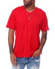 Shirts - SS Vneck Slub Tee-2473239