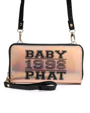 Baby Phat - Baby Phat Crossbody Wallet W/ Wristlet Strap-2472019