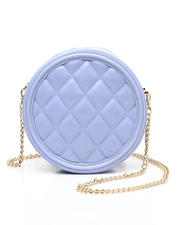 Fashion Lab - Round Quilted Jelly Crossbody-2472784