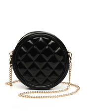 Womens-Holiday - Round Quilted Jelly Crossbody-2472786