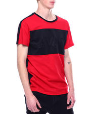 Shirts - Savage Colorblock Embossed Tee-2473438