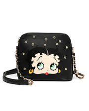 Womens-Holiday - Betty Boop Face Print Crossbody -2471990