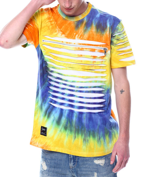 SWITCH - TIE DYE RAZOR SLASH TEE