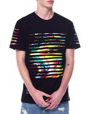 SWITCH - RAZOR SLASHED TEE W GRADIENT PRINT-2473418