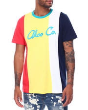 AKOO - Akoo Co. SS Embroidered Stripe Tee-2473071