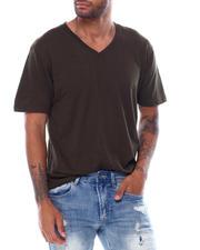 Shirts - SS Vneck Slub Tee-2473257