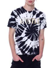 Shirts - Hustle Embossed Foil Tie Dye Tee-2473531