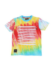 SWITCH - Tie Dye Tee W/ Razor Slash Detail (4-7)-2471657