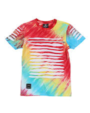 SWITCH - Tie Dye Tee W/ Razor Slash Detail (8-20)-2471663