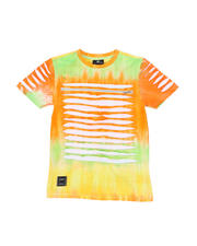 SWITCH - Tie Dye Tee W/ Razor Slash Detail (8-20)-2471721