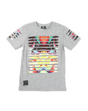 SWITCH - Razor Slashed Tee W/ Gradient Print (8-20)-2471787