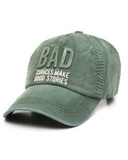 Fashion Lab - Bad Choices Vintage Ballcap-2471209