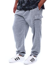 Big & Tall - Cargo Fleece Joggers (B&T)-2472873
