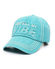 Fashion Lab - Don't Kill My Vibe Ballcap-2471210