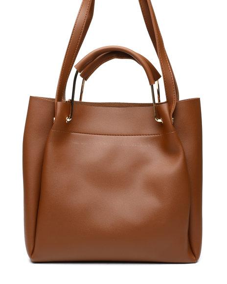 Fashion Lab - Tote Bag W/ Top Handles