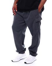 Big & Tall - Cargo Fleece Joggers (B&T)-2472859