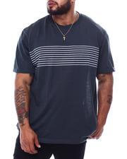 Big & Tall Faves - Design Crew Neck Thin Stripe-2472939