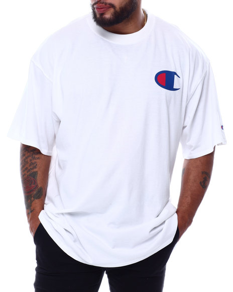 Champion - Small Left Chest C Print S/S Tee (B&T)