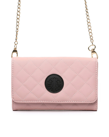 Fashion Lab - Quilted Crossbody Wallet