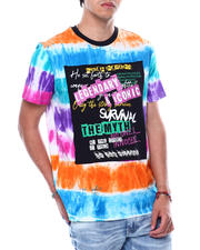 SWITCH - Graffiti Tie Dye Tee-2474463