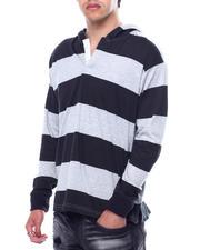 Buyers Picks - Barstripe LS Knit Hooded Shirt-2474578