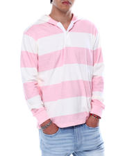 Hoodies - Barstripe LS Knit Hooded Shirt-2474722