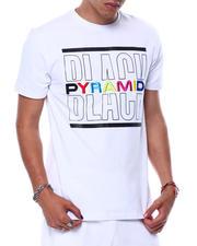 Black Pyramid - BP SPLIT TEXT SHIRT-2474983