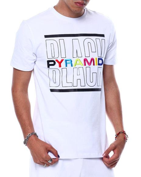Black Pyramid - BP SPLIT TEXT SHIRT