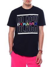 Black Pyramid - BP SPLIT TEXT SHIRT-2474989