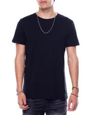 Athleisure for Men - 3-Pack Black Crew Neck Tees-2475079