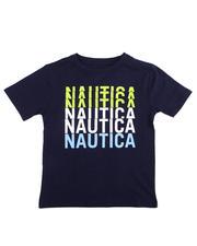 Nautica - Repeat Logo Tee (8-20)-2475532