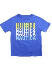 Nautica - Repeat Logo Tee (8-20)-2475552