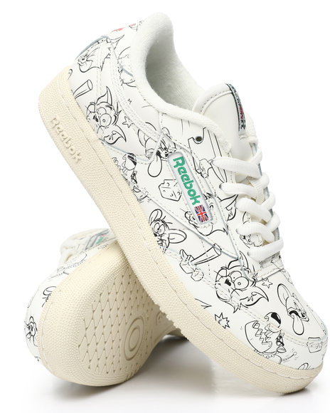 Reebok - Tom & Jerry Club C 85 Sneakers (3.5-7)