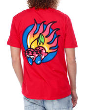 Pink Dolphin - CHERRY FLAME TEE-2476271