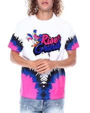 Makobi - Rise Grind Embroidered and Flocked Tee-2476154