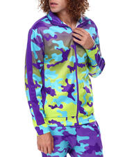 Outerwear - Gradation Camo Track Jacket-2475775