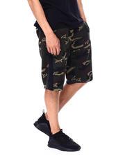 Akademiks - Seamed Side Stripe Fleece Short-2476331