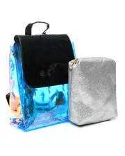 Baby Phat - Baby Phat Clear Backpack W/ Inner Bag-2473289