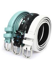 Fashion Lab - Three Pack Belts -2473521