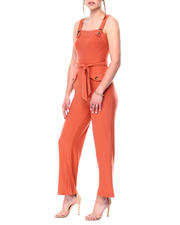 Womens-Holiday - Brushed Yummy Jersey Jumpsuit-2476799