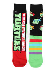 DRJ SOCK SHOP - The Turtles Crew Socks-2473325