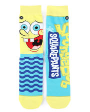 Socks - SpongeBob Big Face Crew Socks-2473330