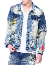 Outerwear - King of the City denim Jacket-2477356
