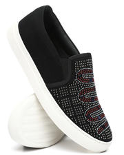 Buyers Picks - Samuel Studded Slip On Sneakers-2476600